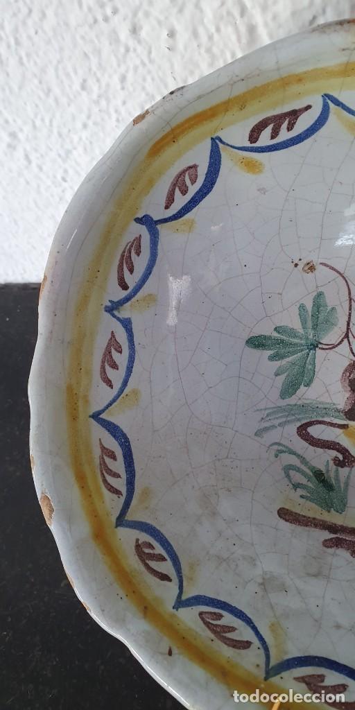 Antigüedades: BOL DE CERAMICA DE ALCORA - FRUTERO - 8 X 21 X 17,5 CM. - Foto 6 - 205535183