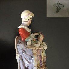 Antigüedades: FIGURA PORCELANA COLECCION. Lote 205539928