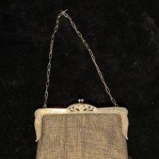 Antigüedades: BOLSO DE PLATA 800 CONTRASTADO.. Lote 205553850