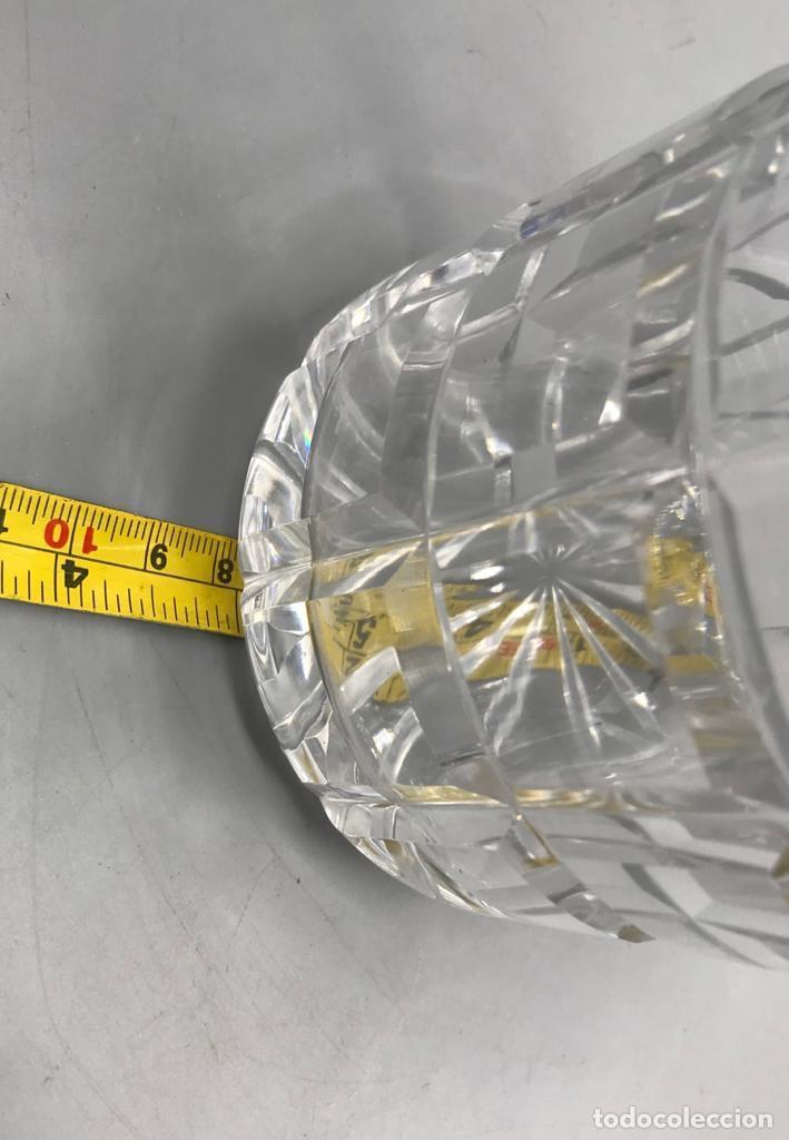 Antigüedades: Licorera de cristal con cuello en plata española. - Foto 5 - 205558676