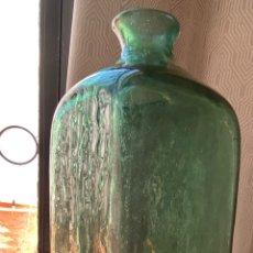 Antigüedades: BOTELLA CRISTAL DE CASTRIL. Lote 205567247