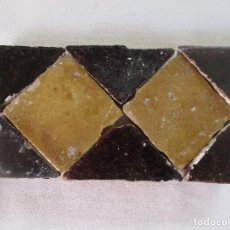 Antigüedades: AZULEJOS MUDEJARES SIGLO XVI O ANTERIORES. Lote 205587857