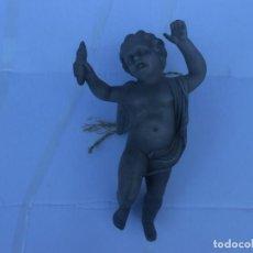 Antigüedades: ANGEL DE BISCUIT PARA COLGAR. Lote 205591348