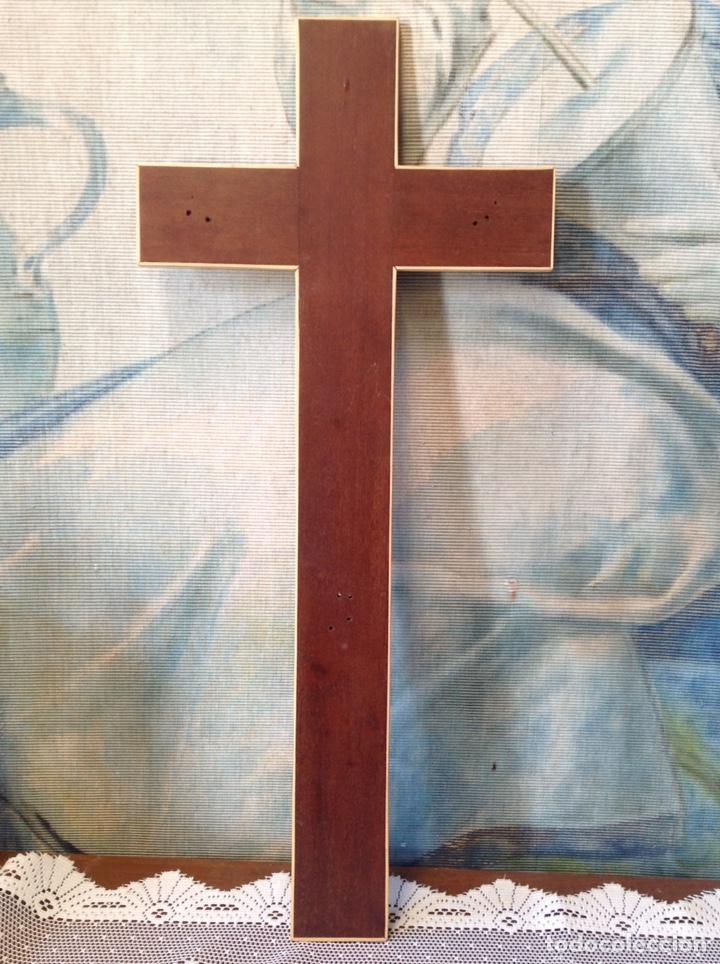 CRUZ DE MADERA (Antigüedades - Religiosas - Cruces Antiguas)
