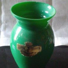 Antigüedades: ~~~~ ANTIGUO BÚCARO - VIOLETERO DE OPALINA - CRISTAL SOPLADO, MIDE 11 X 7 CM..~~~~. Lote 205610571