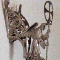 Antigüedades: ~~~~ LAMPARILLA DE PARED PARA IGLESIA O CAPILLA, MIDE 38 CM.~~~~. Lote 205611650