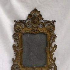 Antigüedades: PORTA FOTO DE BRONCE. Lote 205642925
