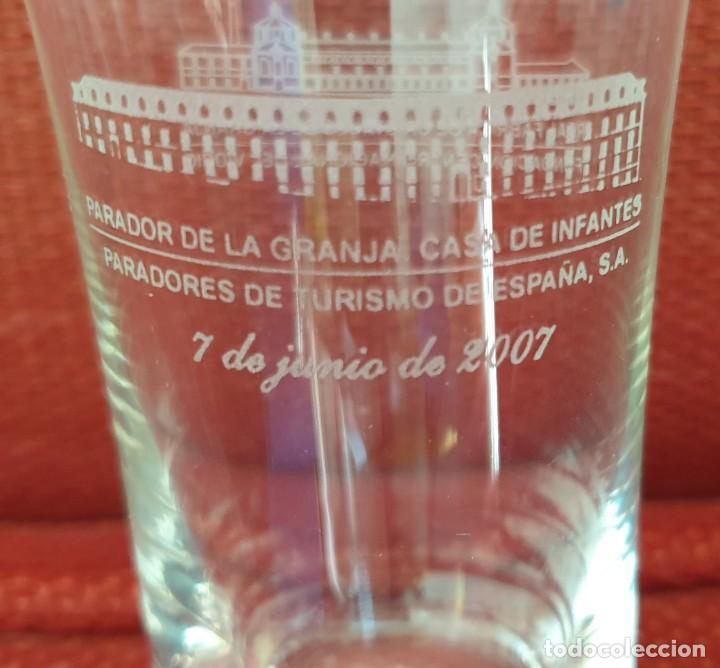 VASO DE LA REAL FABRICA DE CRISTALES DE LA GRANJA (Antigüedades - Cristal y Vidrio - La Granja)