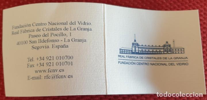 Antigüedades: VASO DE LA REAL FABRICA DE CRISTALES DE LA GRANJA - Foto 5 - 205653275