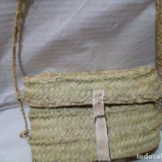 Antigüedades: CAPACHA DE ESPARTO. Lote 205654422