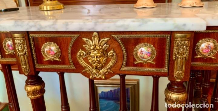 Antigüedades: Exquisita consola antigua - Foto 4 - 205662820