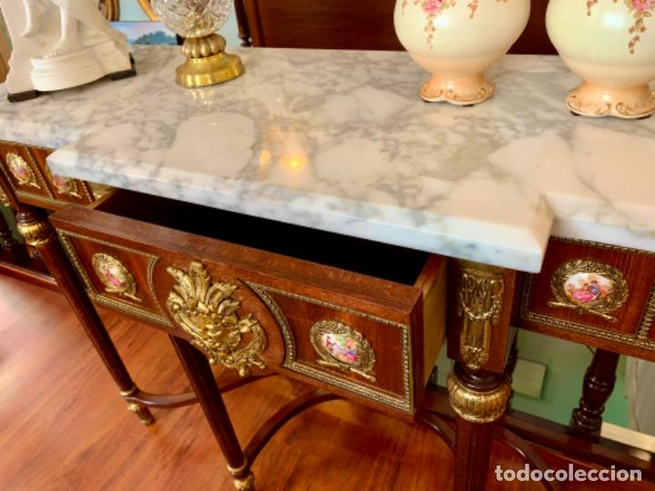 Antigüedades: Exquisita consola antigua - Foto 6 - 205662820