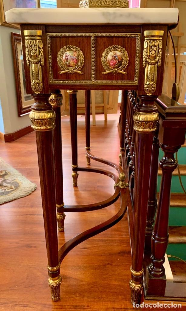 Antigüedades: Exquisita consola antigua - Foto 7 - 205662820
