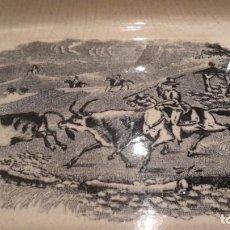 Antigüedades: LOZA DE CARTAGENA. FAB. LA AMISTAD. FUENTE OCHAVADA.. Lote 205683853