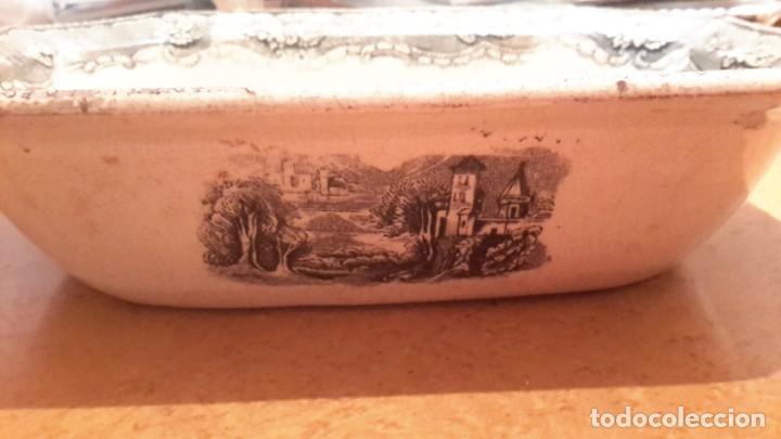 Antigüedades: LOZA DE CARTAGENA. FAB. LA AMISTAD. FUENTE OCHAVADA. - Foto 5 - 205683853