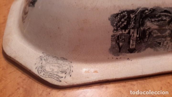Antigüedades: LOZA DE CARTAGENA. FAB. LA AMISTAD. FUENTE OCHAVADA. - Foto 6 - 205683853