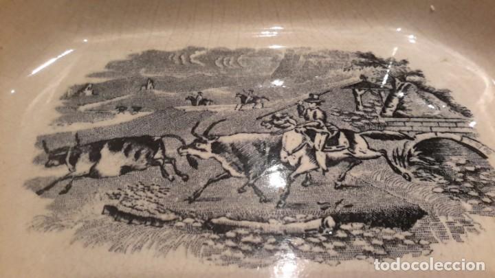 Antigüedades: LOZA DE CARTAGENA. FAB. LA AMISTAD. FUENTE OCHAVADA. - Foto 9 - 205683853