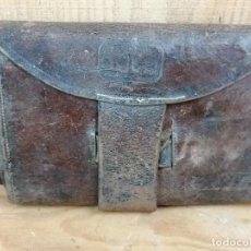 Antigüedades: CARTERA EN PIEL PORTA DOCUMENTOS?. Lote 205703316