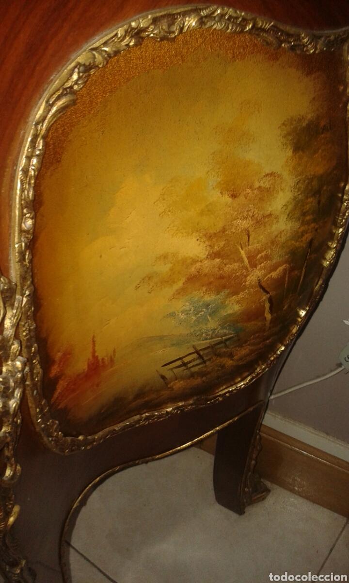 Antigüedades: Vitrina estilo Luis XV de muebles Ricardo Soriano Cerdan - Foto 8 - 205705092