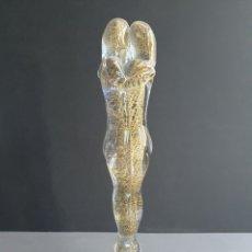 """Antigüedades: ESCUTURA """"ABRAZO DE LOS AMANTES """"ARTISTA GIULIANO TOSI"""" MURANO. Lote 205711082"""