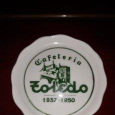 Antigüedades: PLATO CAFETERÍA TOLEDO BILBAO. Lote 205712515