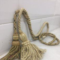 Antigüedades: ANTIGUAS BORLAS DE PASAMANERÍA. Lote 205713747