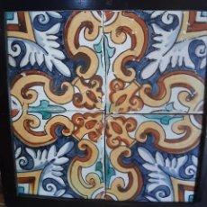 Antigüedades: RAJOLES CATALANAS / AZULEJO CATALÁN. Lote 205722817