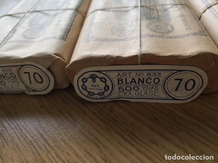 Antigüedades: HILO DE COSER COATS 70 EN SU PAQUETE AÑOS 20-30 - Foto 4 - 205736813