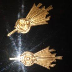 Antigüedades: POTENCIAS DORADAS. Lote 205736893