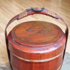 Antigüedades: CANASTA DE BODAS CHINA AÑOS 30. Lote 205739933