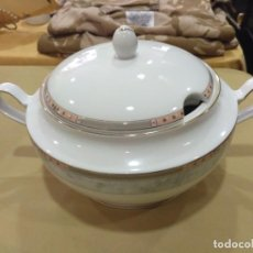Antigüedades: SOPERA EN PORCELANA DECORADA DE BAVARIA EN PERFECTO ESTADO.. Lote 205752430