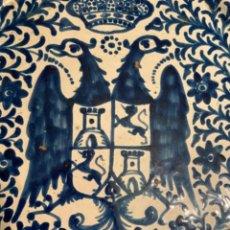 Antigüedades: PLATO LLANO O BRASERILLO DE FAJALAUZA (GRANADA). Lote 205752531