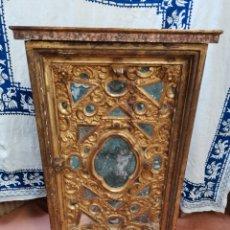 Antigüedades: ARMARIO LIBRERÍA 119X70X38. Lote 205764222