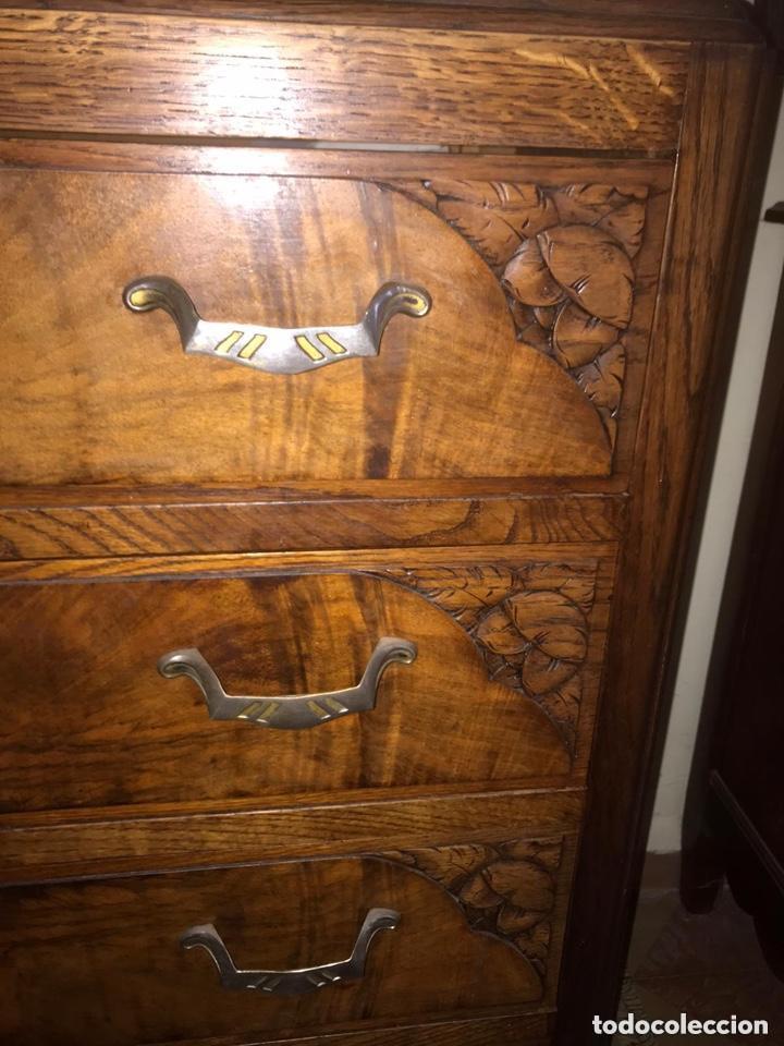 Antigüedades: Rara comoda Art Deco - Foto 3 - 205774606