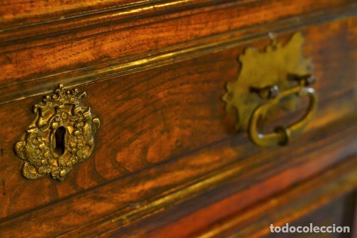 Antigüedades: Cómoda española Felipe V - Foto 6 - 205776891