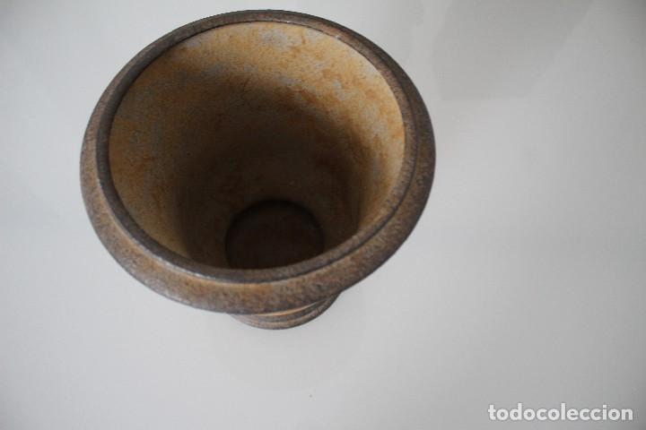Antigüedades: MACETERO 20 DIÁMETRO ARRIBA - 14 DIÁMETRO SUELO ALTO 21 VER FOTOS - Foto 6 - 205784353
