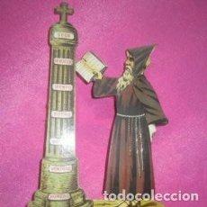 Antigüedades: HIGROMETRO DEL TIEMPO ANTIGUO FRAILE ORIGINAL AÑOS 20. Lote 205792380