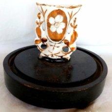 Antigüedades: ANTIGUO JARRON ISABELINO S XIX (MINIATURA). Lote 205796437