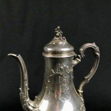 Antigüedades: 645 GR DE PESO TETERA O CAFETERA EN PLATA DE LEY FRANCIA CIRCA 1850. Lote 205810301