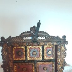 Antigüedades: PAPELERA COLONIAL. Lote 205818135