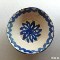Antigüedades: PEQUEÑO RARO PLATO FAJALAUZA (S.XIX-XX). Lote 205820347