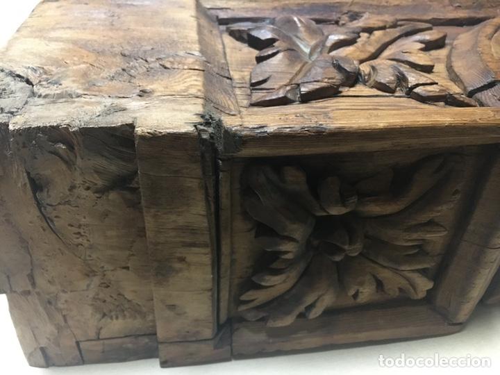 Antigüedades: Antigua mensula de madera - Foto 10 - 205824268