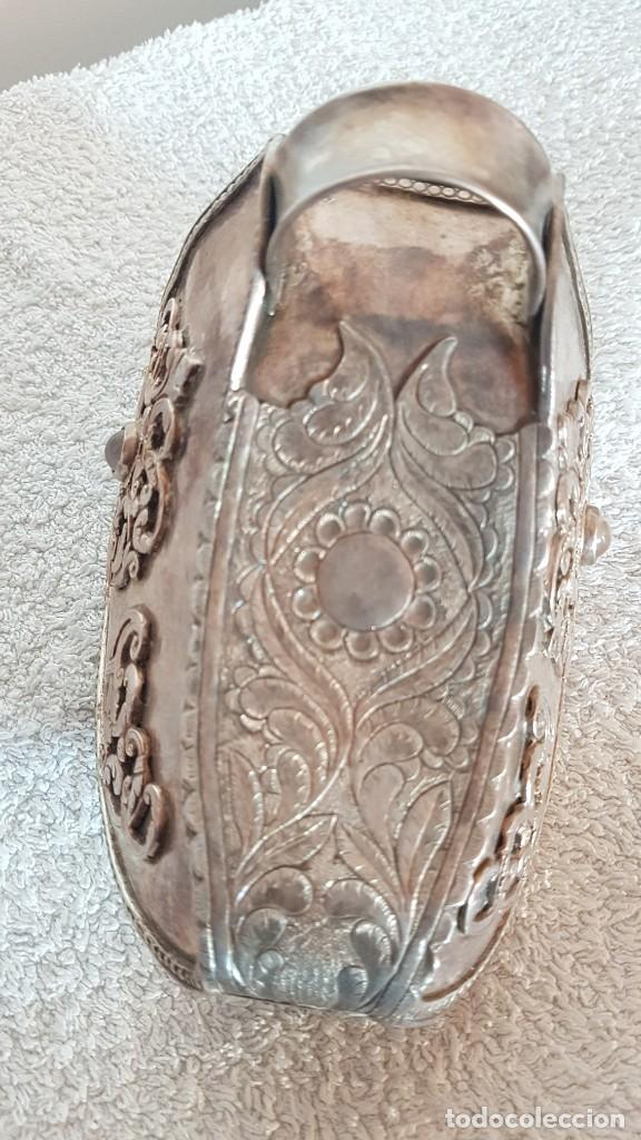 ESTRIBO DE PLATA SUDAMERICANO (Antigüedades - Técnicas - Rústicas - Caballería Antigua)