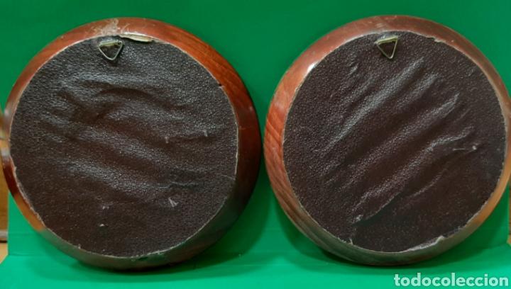 Antigüedades: LOTE DE 5 PAREJA DE MARCOS PARA MINIATURAS. PPS S. XX. - Foto 9 - 205835998
