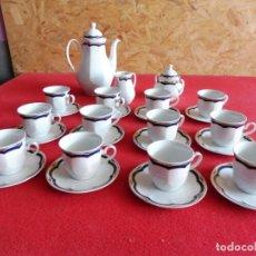 Antigüedades: JUEGO DE CAFÉ ALEMÁN COMPLETO Y SIN USO - STUTTGART SAMMLUNG. Lote 205850203