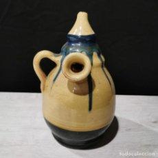 Antigüedades: ANTIGUO BOJITO - CÀNTIR - CERAMICA CATALANA - 20 X 14 X 13 CM. Lote 205852302