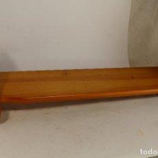 Antigüedades: REPISA EN MADERA DE PINO. Lote 205877601