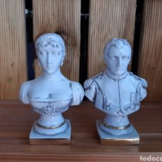 Antigüedades: BUSTO NAPOLEÓN & JOSEFINA. Lote 205901637