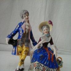 Antigüedades: PAREJITA ROMANTICA DE PORCELANA ( SITZENDORF ). Lote 206123935