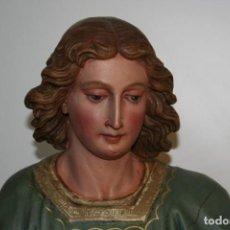 Antigüedades: TALLA DE MADERA SIGLO XIX. Lote 206130830